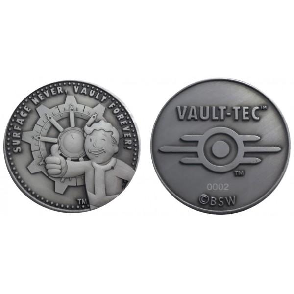 Fallout Coin - Vault-Tec