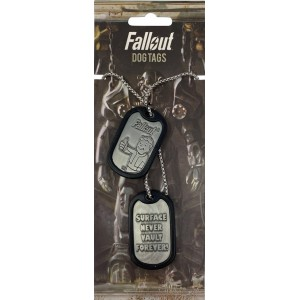 Fallout Dog Tags - Surface Never