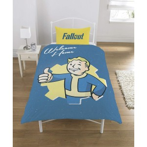 Fallout Duvet - Vault Boy Single