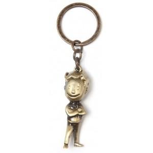 Fallout 3D Keyring - Golden Vault Boy