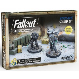 Wasteland Warfare: Enclave Soldier Set