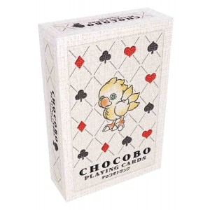 Final Fantasy Playing Cards - Chocobo
