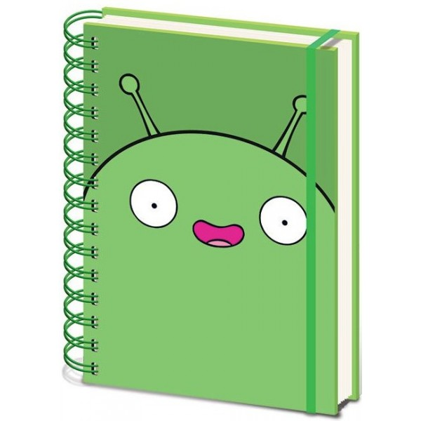 Final Space Wiro Notebook - Mooncake