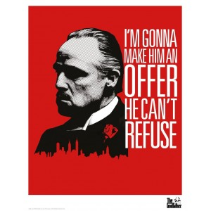 The Godfather Print - Offer