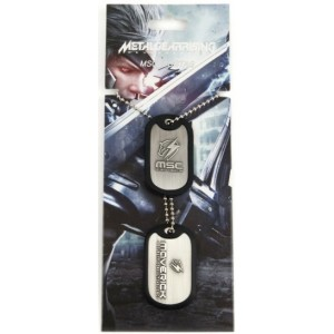 Metal Gear Rising Dog Tags - Maverick Logo