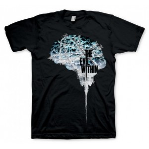 The Evil Within T-Shirt - Brain Negative
