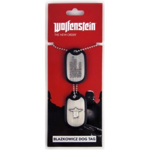 Wolfenstein Blazkowicz Dog Tags