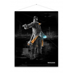 Watch Dogs Wallscroll - Aiden Pearce