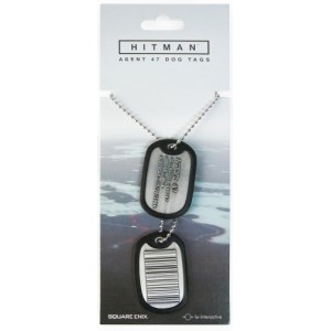 Hitman Dog Tags - Barcode Agent 47