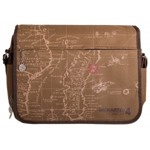 Uncharted Messenger Bag - Map