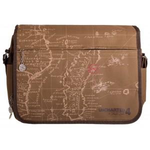 Uncharted Messenger Bag - Map