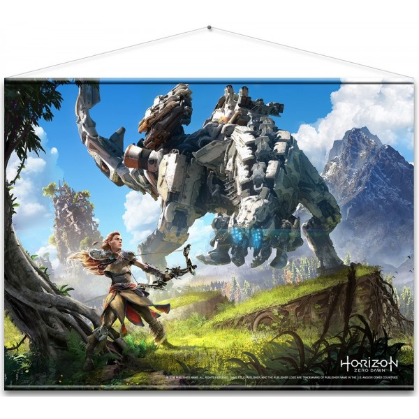 Horizon Zero Dawn Cover Art Wallscroll