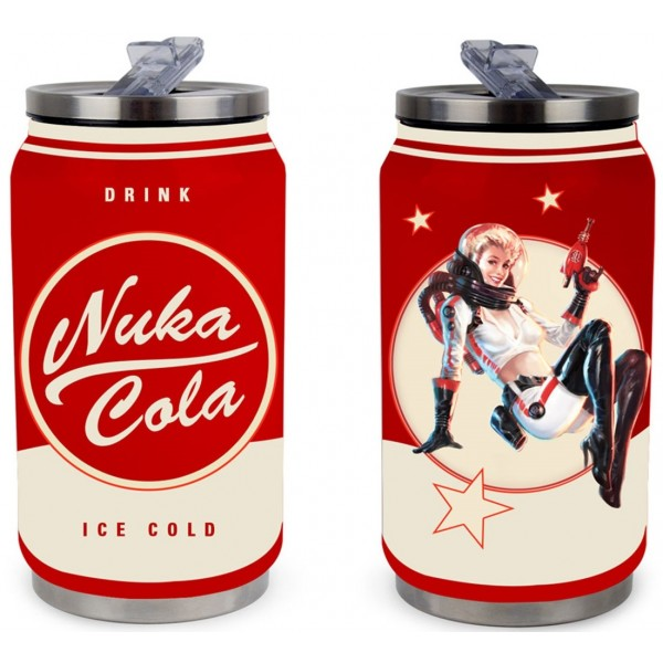 Fallout Metal Can - Nuka Cola