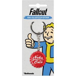 Fallout 3D Keyring - Nuka Cola Bottlecap