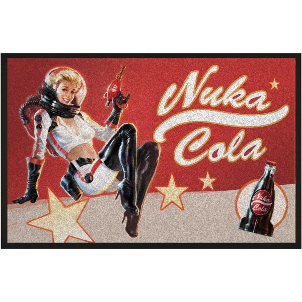 Fallout Doormat - Nuka Cola Pin-Up