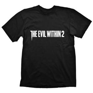 The Evil Within T-Shirt - Logo Horizontal
