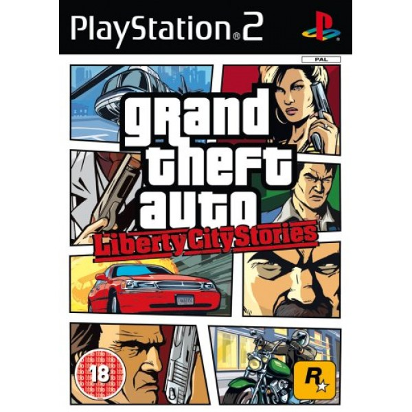 Grand Theft Auto: Liberty City Stories [Used/No Manual]