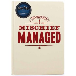 Harry Potter Notebook - Mischief Managed