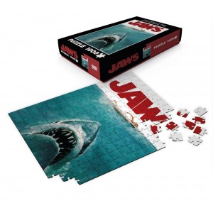 Jaws Puzzle - Movie Poster