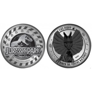 Jurassic Park Coin - Find Nedry