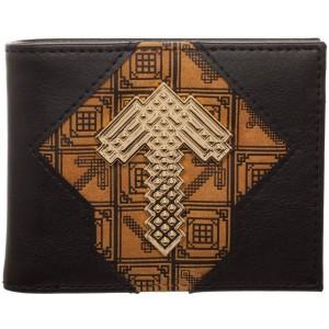 Minecraft Wallet - Pickaxe Badge