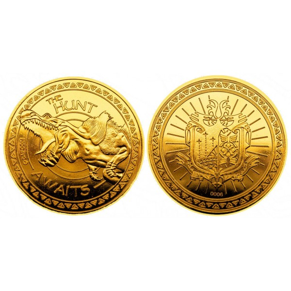 Monster Hunter Gold Coin - Research Commission