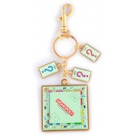 Monopoly Keyring - Board & Card Charms