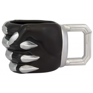 Black Panther Shaped Mug - Fist
