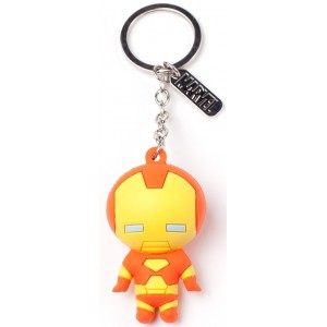 Iron Man 3D Keyring - Kawaii