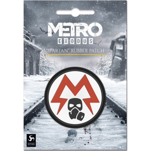 Metro Exodus Rubber Patch - Spartan