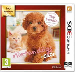 Nintendogs and Cats 3D: Toy Poodle - Selects
