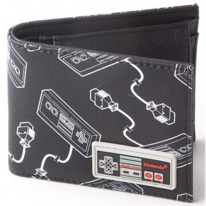 Nintendo NES Wallet - Rubber Patch Controller
