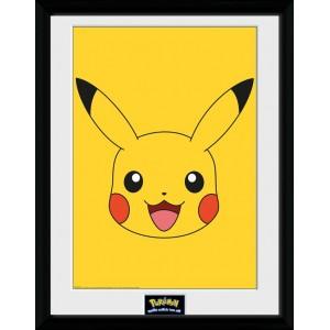 Pokémon Framed Print - Pikachu Face