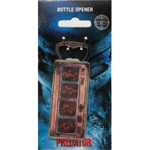 Predator Bottle Opener - Heat Vision
