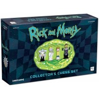 Rick and Morty Collector's Chess Set