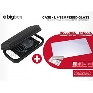 Switch Tempered Glass Screen Protector & Case