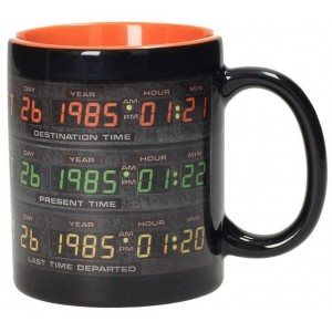 Back to the Future Mug - Control Panel