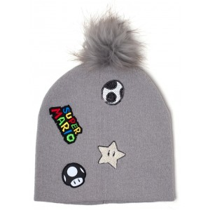 Super Mario Beanie - Patches