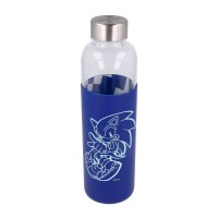 Sonic the Hedgehog Glass Bottle with Silicone Sleeve