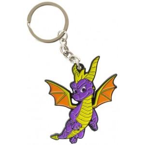 Spyro the Dragon Metal Keyring