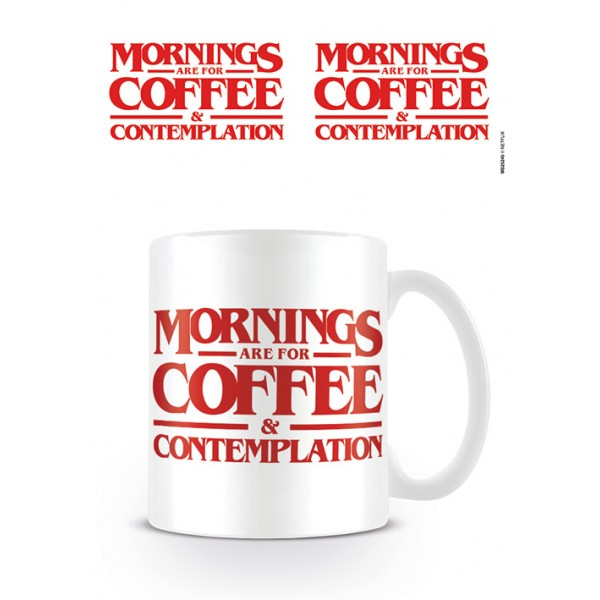 Stranger Things Mug - Coffee and Contemplation