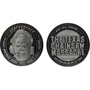 The Texas Chainsaw Massacre Coin - Leatherface