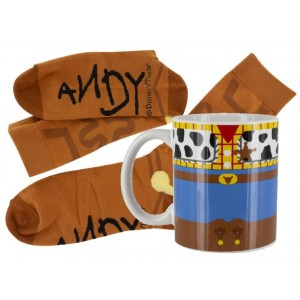 Toy Story Mug and Socks Set - Woody