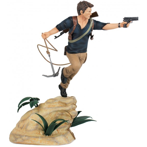 Uncharted Statue - Nathan Drake