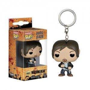 The Walking Dead Daryl Dixon Pocket POP! Keyring