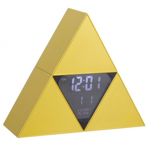 Zelda Alarm Clock - Tri-Force