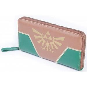 Zelda Purse - Brown/Green Hyrule Crest