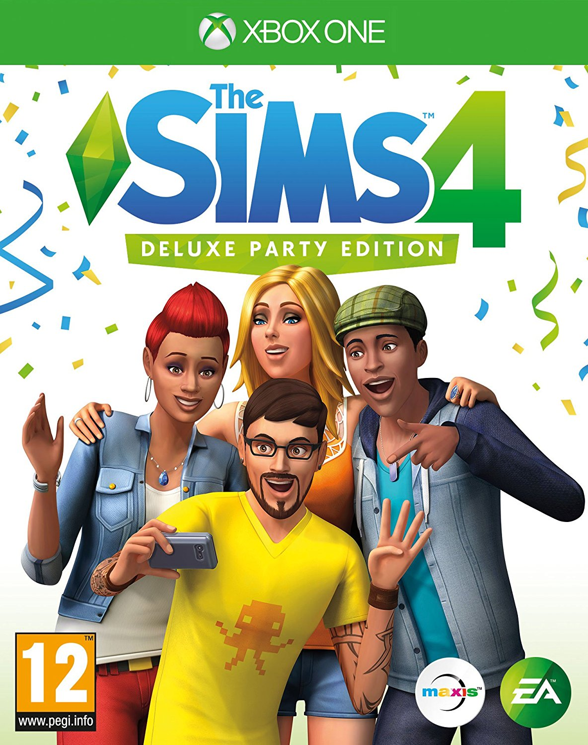 The Sims 4 Deluxe Party Edition Xbox One New 690001630827 Ebay
